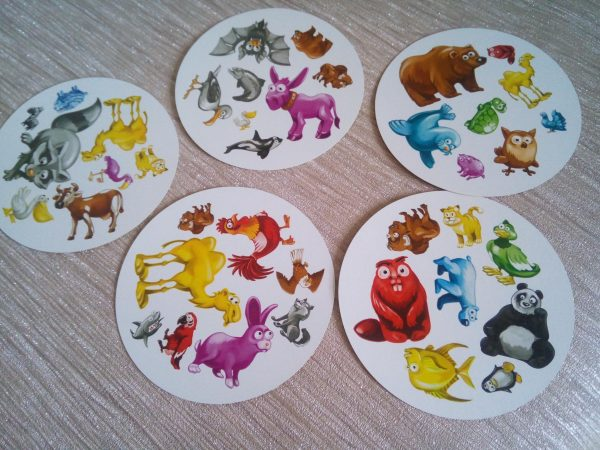 Dobble Animals - the quick thinking card game Family Clan