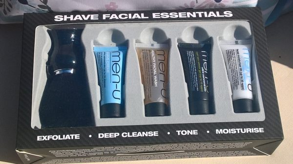 Men-Ü Shave Facial Essentials Shaving products Review Family Clan