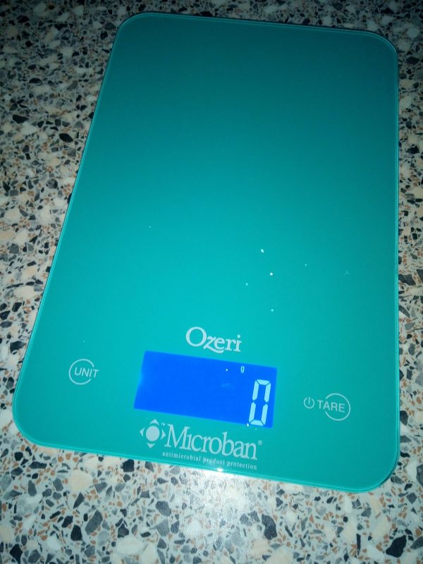 Ozeri Touch II Digital Kitchen Scales