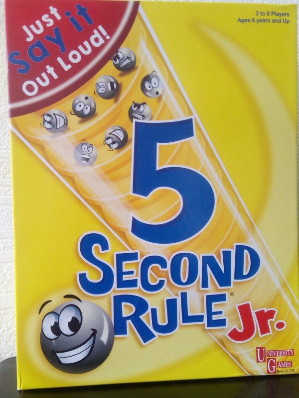 5 Second Rule Jr review by Family Clan