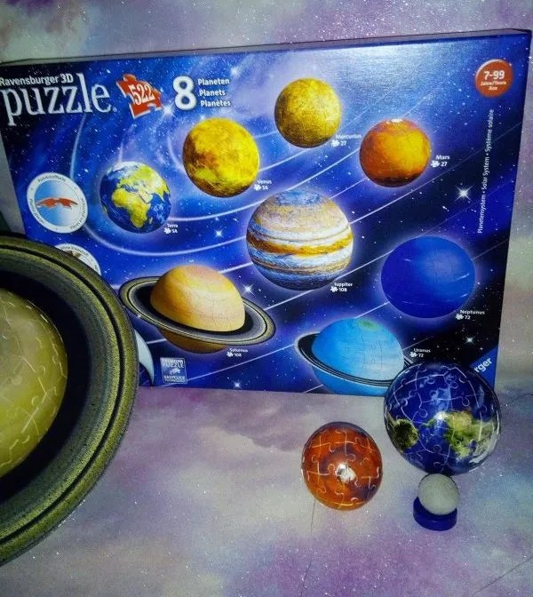 Ravensburger 3D Planetery Solar System review by Family Clan