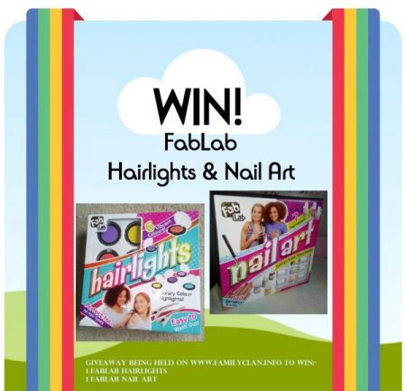FabLab Hairlights & Nail Art Giveaway Family Clan
