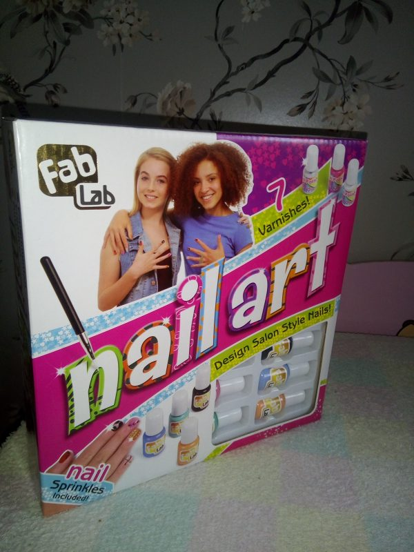 FabLab Nail Art Review by Family Clan