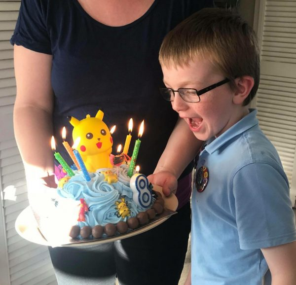 Happy Birthday Jake is 8