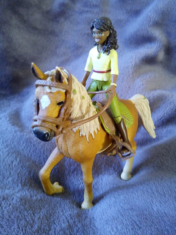 Schleich Horse Club Horse and rider review by Family Clan
