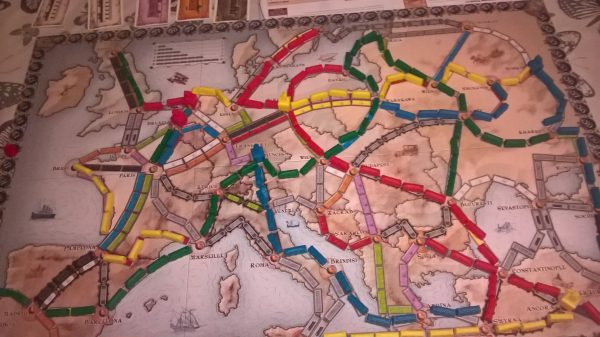 Ticket to Ride Europe Board Game Review Family Clan