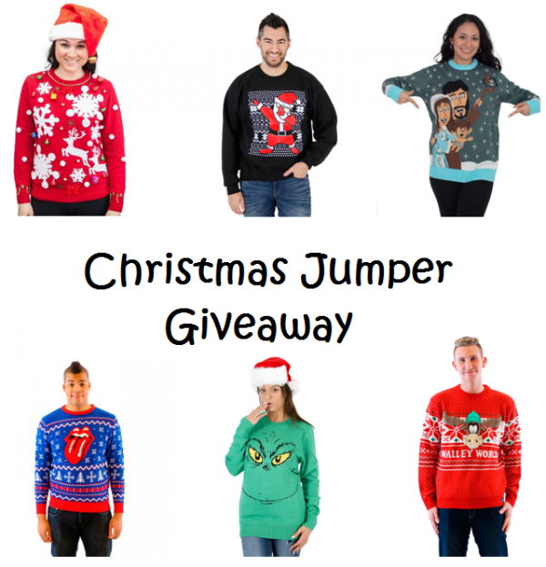 Christmas Jumper giveaway Family Clan