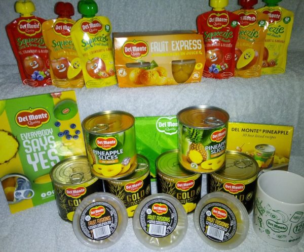 Del Monte Hamper Giveaway Family Clan