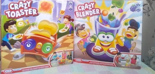 Little Tikes Crazy Toaster & Crazy Blender Review Family Clan