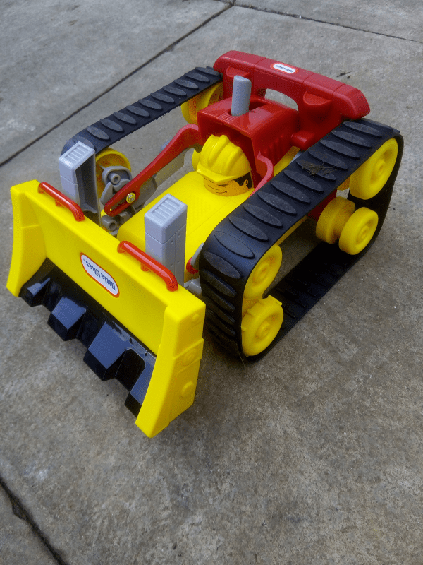 Little Tikes Dozer Racher review by Family Clan