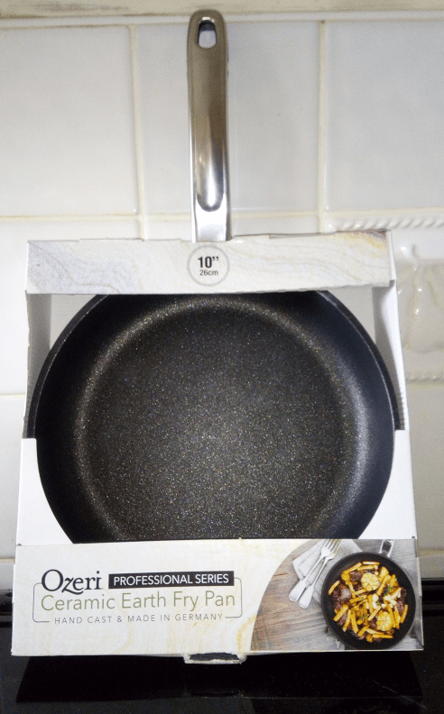 Ozeri Professional Series Ceramic Earth Fry Pan Family Clan