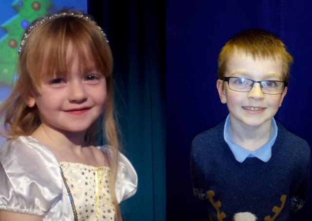 Grace and Jakes school play Sunday Snap 16th December Family Clan