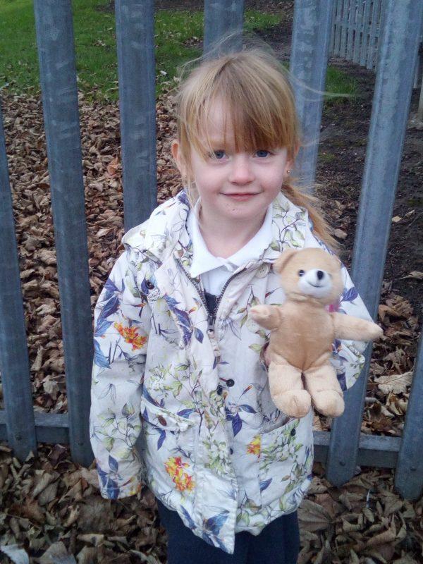Grace's teddy