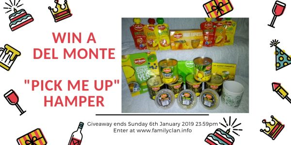 Win a Hamper of Del Monte Goodies Family Clan
