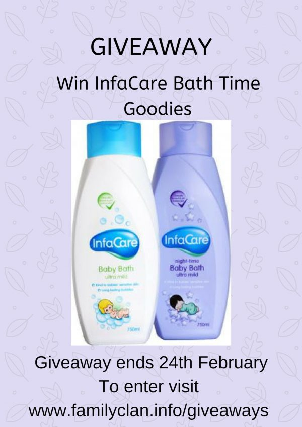 Infacare Baby Bath Time Giveaway Family Clan