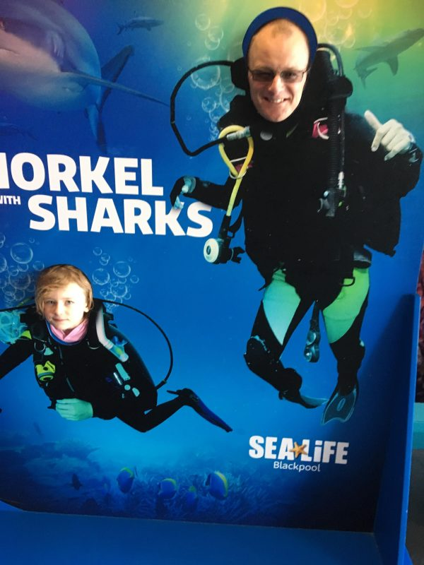 Blackpool Sea Life Centre Feb 2019 Family Clan