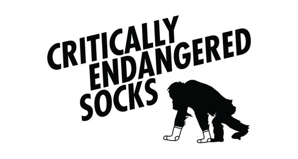 Critically Endangered Socks Logo