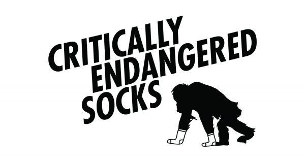 Critically Endangered Socks Logo