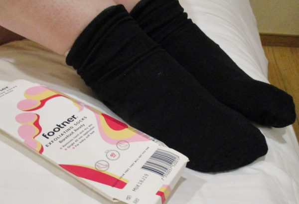 Footner Exfoliation Socks Review Family Clan