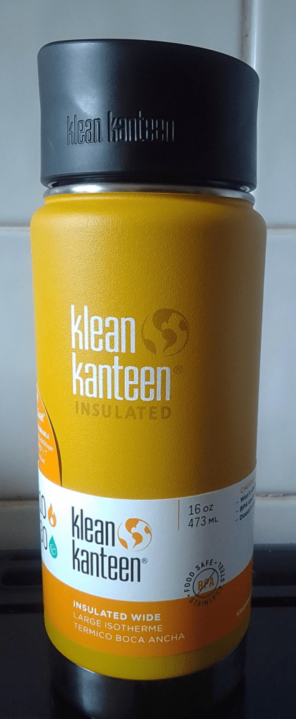 Klean Kanteen 16oz thermal flask 2