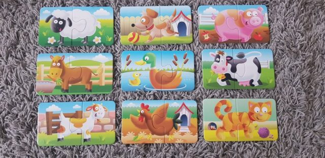 Ravensburger Farmyard Friends Review by Family Clan 2
