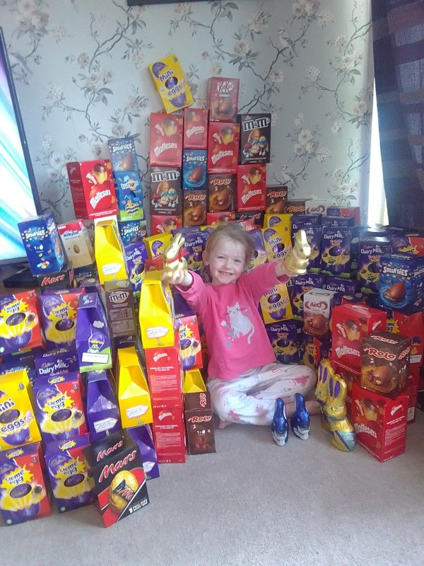 Easter Eggs by Family Clan