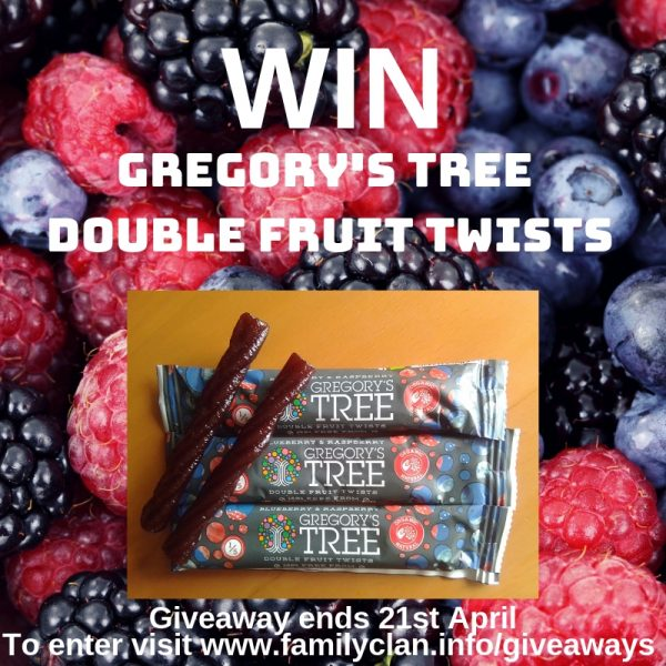 Win Gregory's Tree Double Fruit Twists Family Clan