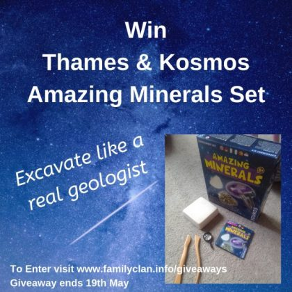 Win Thames & Kosmos Amazing Minerals Set Family Clan