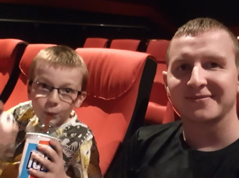 Trip to the cinema to watch Pokémon Detective Pikachu