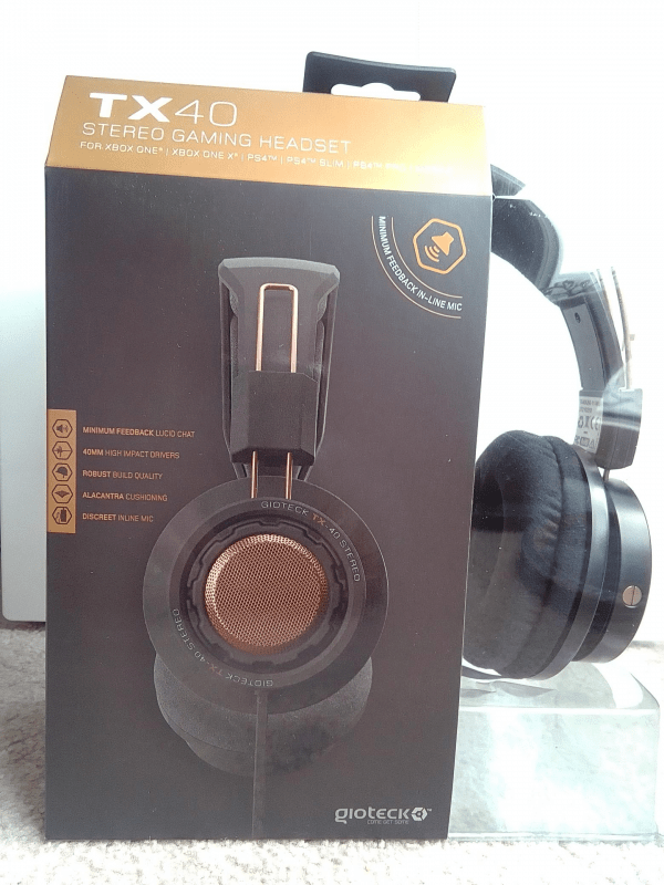 Gioteck Tx40 Stereo Gaming Headset