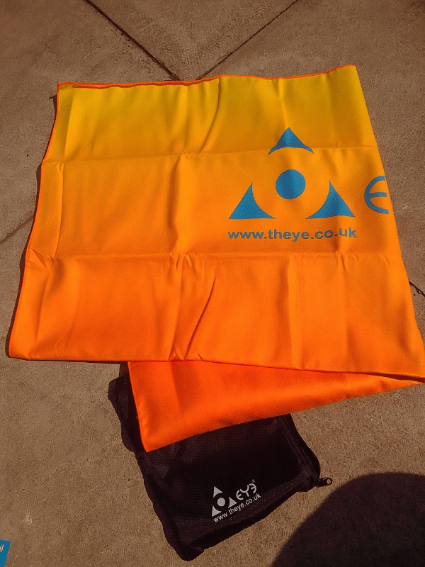 Theye Compact Beach Towel review by Family Clan 4