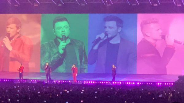 Westlife - The Twenty Tour Review Family Clan