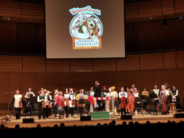 Orchestra at The Sage Gateshead for Wallace and Gromit Musical Marvels