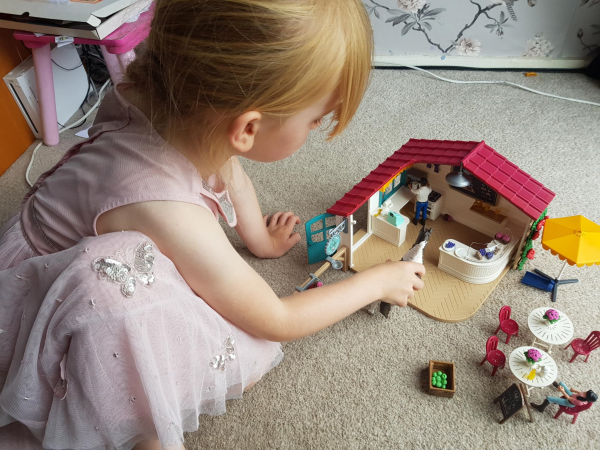 Schleich Horse Club Rider Cafe review by Family Clan