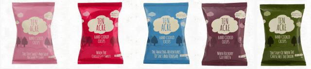 ten Acre crisps poster