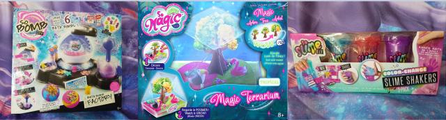 So Bomb DIY, So Magic DIY Tree & So Slime DIY Shaker Review Family Clan