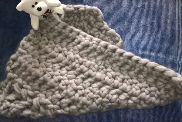 Woolly Mahoosive Crochet Baby Blanket 20mm Hook Review Family Clan
