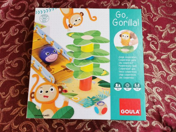 Jumbo Games Goula Go Gorilla Game Review Family Clan