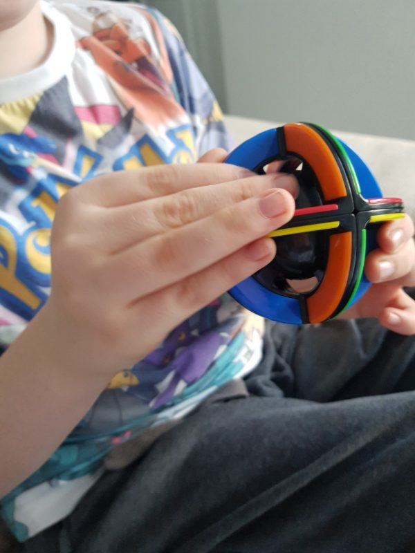 Rubik's Orbit in use