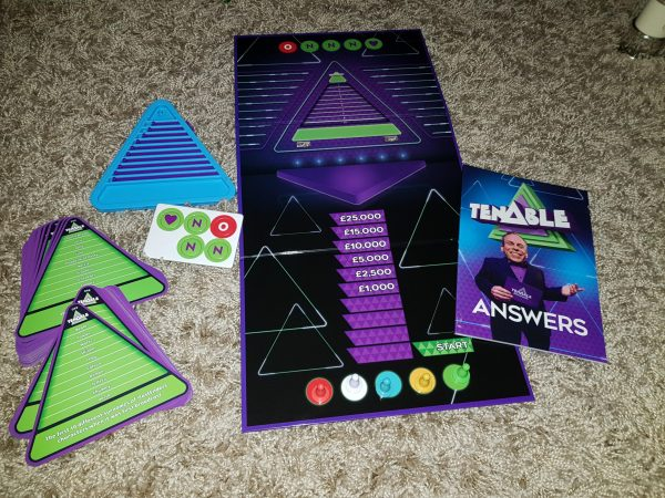 Tenable Tenable board game club review by Family Clan Family Clan