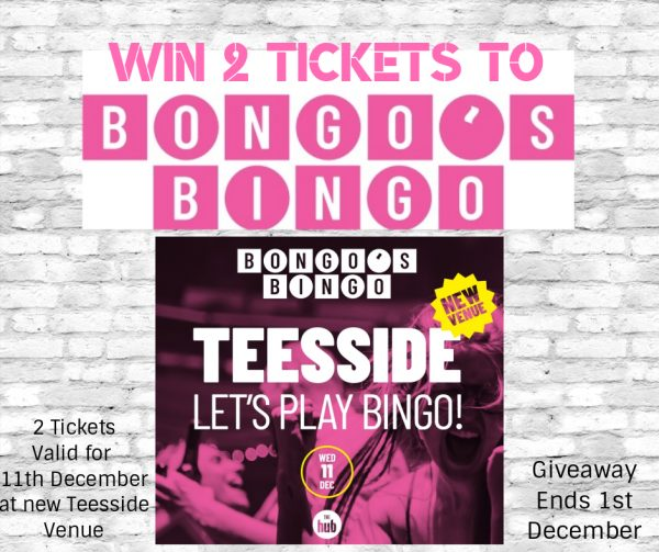 Win Bongos Bingo Tickets Teesside Giveaway poster Family Clan