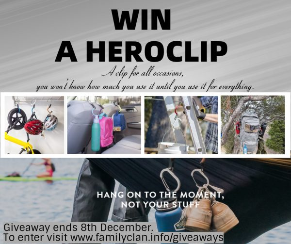 Win a HEROCLIP With Family Clan Giveaway