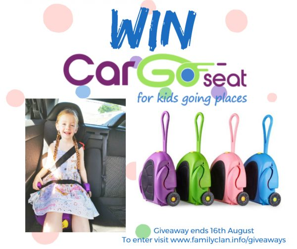 Win a CarGoSeat giveaway - Made with DesignCap Family Clan