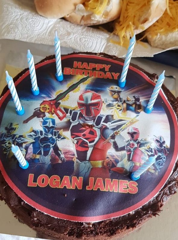 Happy Birthday Logan 7 today Family Clan