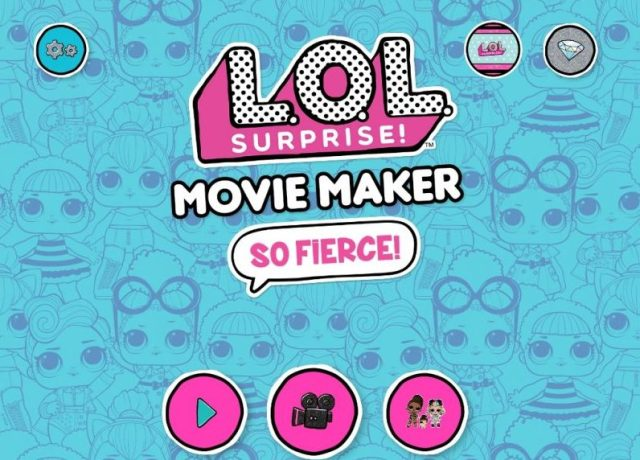 L.O.L. Surprise movie maker app review by Family Clan