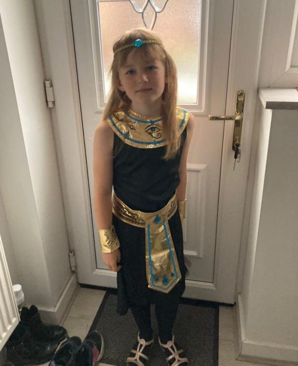Queen Cleopatra Ancient Egypt Day Olivia Family Clan