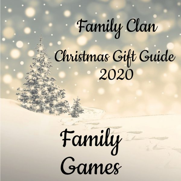 Christmas Gift Guide 2020 Family Games - Made with DesignCap Family Clan