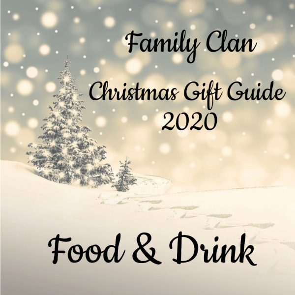 Christmas Gift Guide 2020 Food & Drink - Made with DesignCap Family Clan
