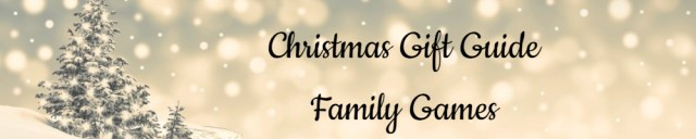 Christmas Gift Guide Banner Family Games - Made with DesignCap Family Clan