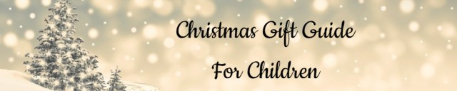 Christmas Gift Guide Banner For Children - Made with DesignCap Family Clan